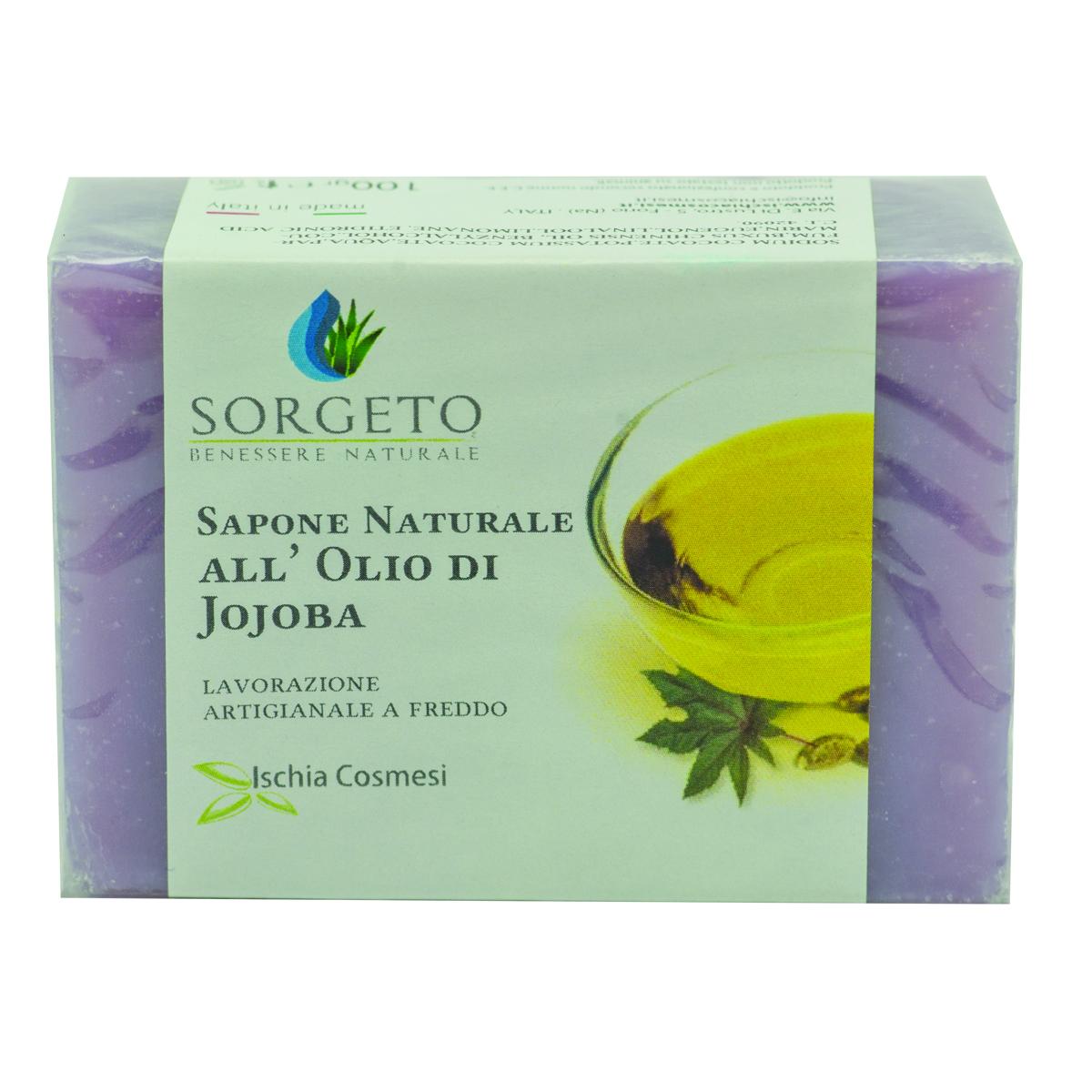 sapone naturale all'olio di jojoba gr 100