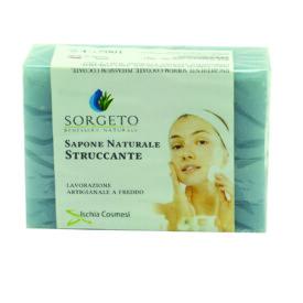 sapone naturale struccante gr 100