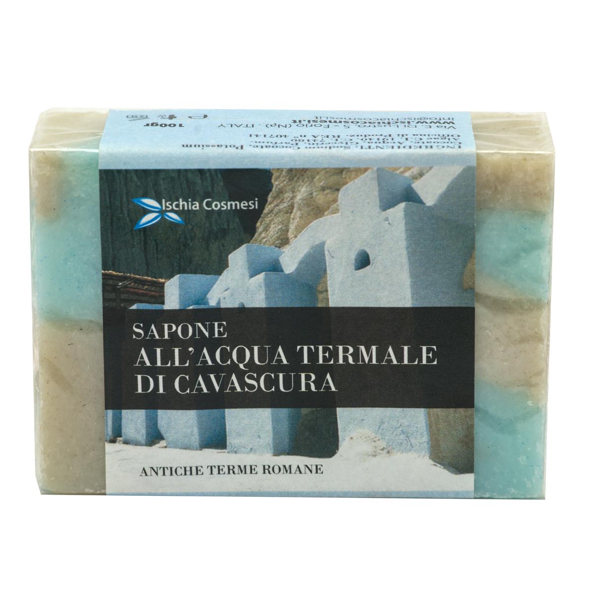 sapone naturale all'acqua termale di cavascura gr 100