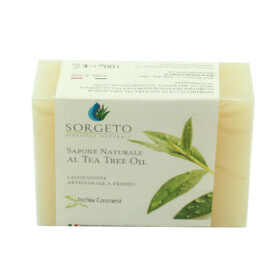 sapone naturale al tea tree oil gr 100