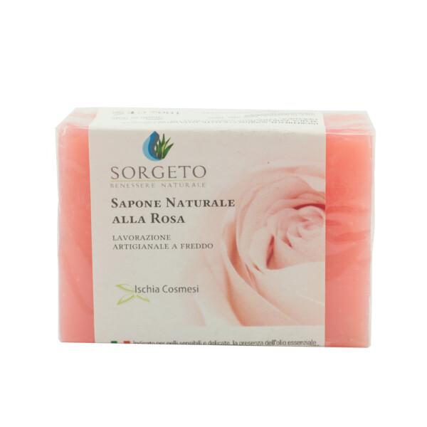 sapone naturale alla rosa