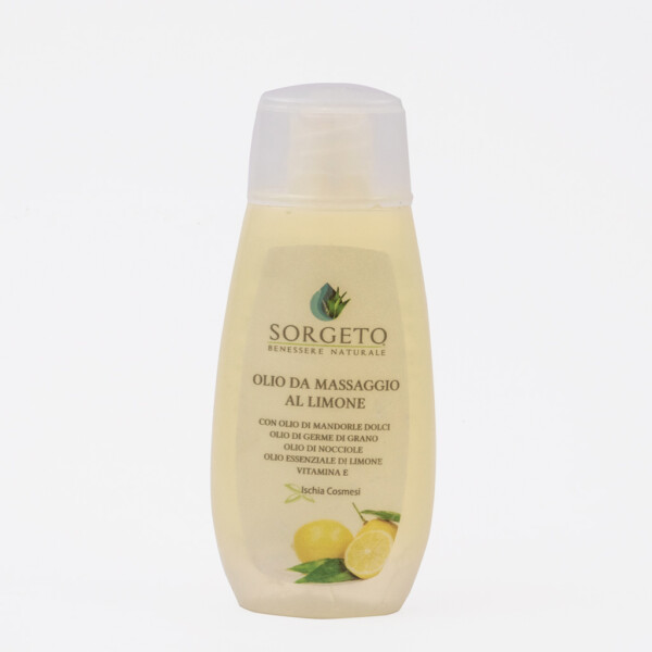 Olio da massaggio al Limone Sorgeto