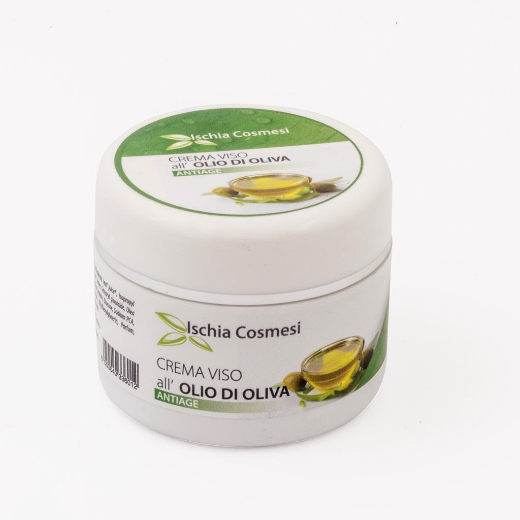 Crema Viso Anti-age all'olio extravergine di Oliva Biologico 100 ml