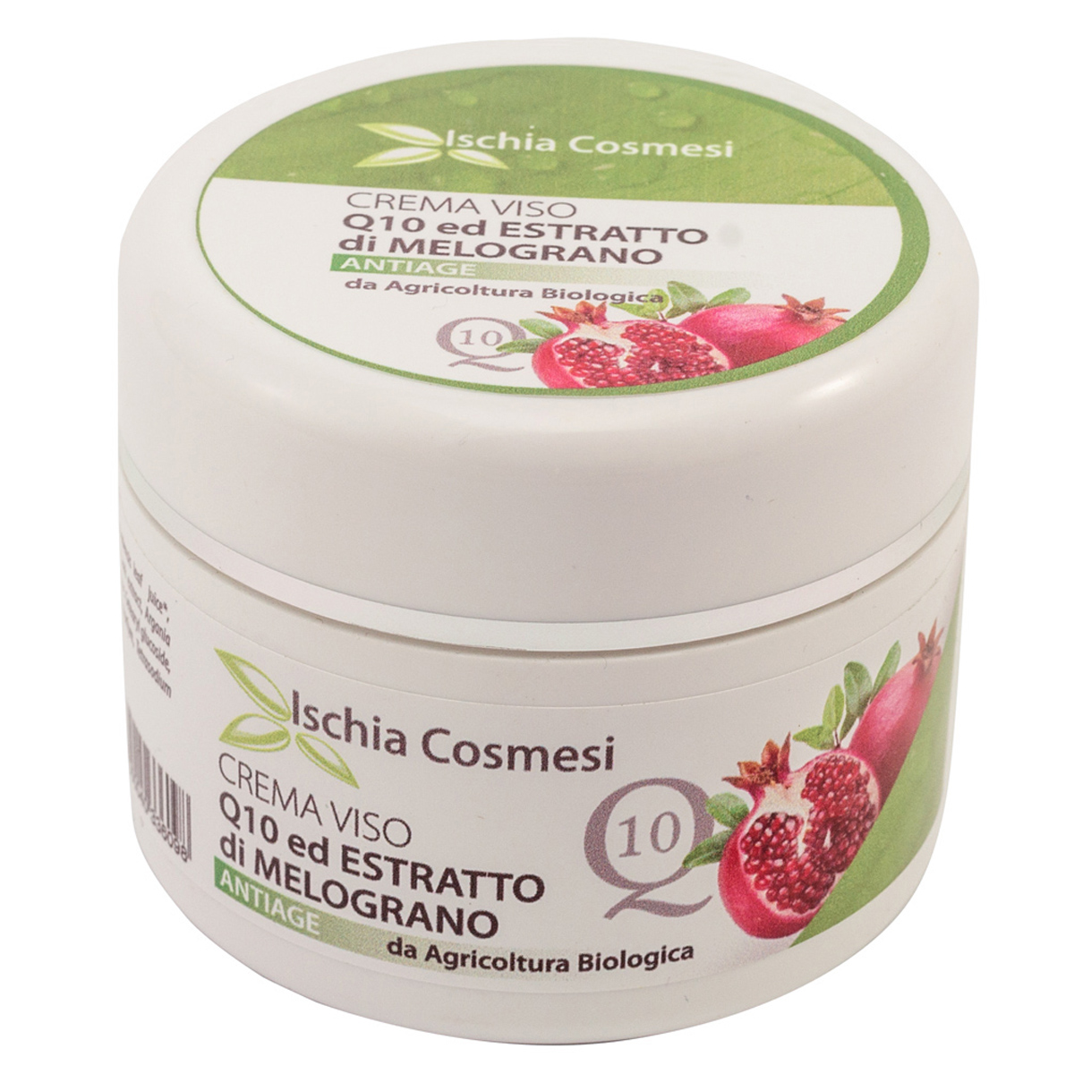 Crema Viso Anti-age Q10 ed Estratto di Melograno 100 ml