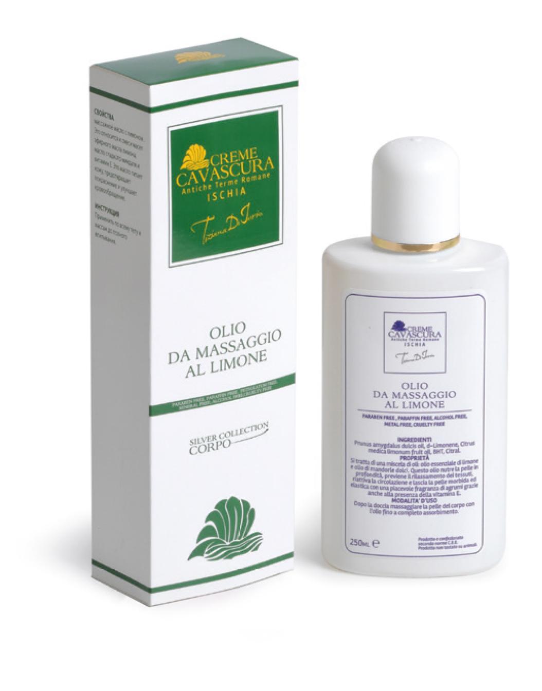 Olio da Massaggio al Limone