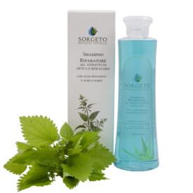 Shampoo riparatore all'ortica e semi di lino Sorgeto