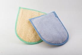 Manopola Loofah e tessuto delicata